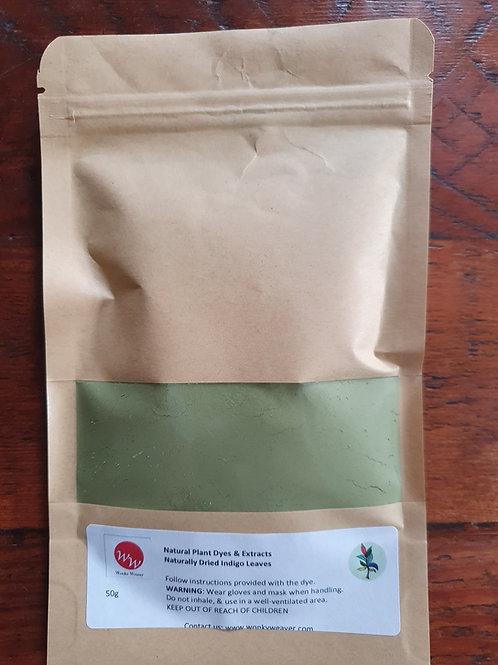 Naturally Dried Indigo Leaf Powder (Natural Plant Dyes)