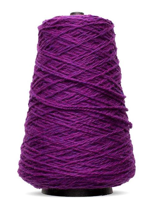 Harrisville Highland Wool Yarn Cones - Plum