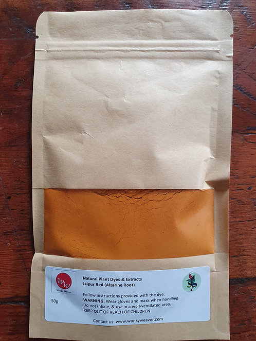Alizarine Root Natural Plant Dye Extract (Rubia tinctorium)