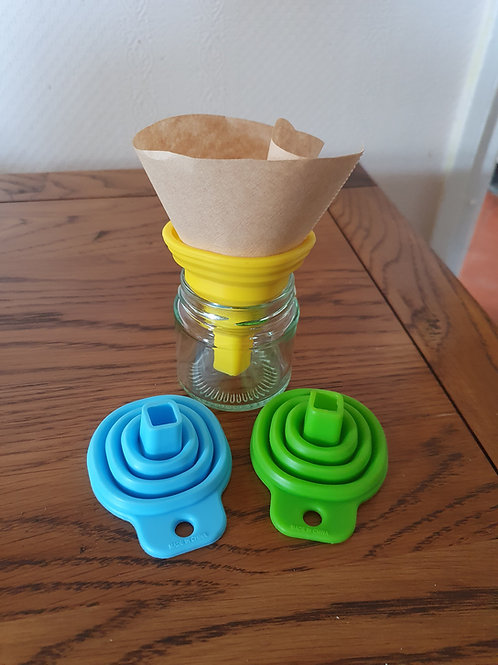 Silicone Foldable Funnel - useful for making dye inks