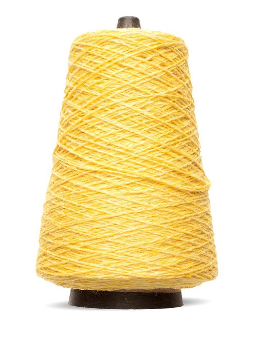 Harrisville Shetland Wool Yarn Cones - Cornsilk
