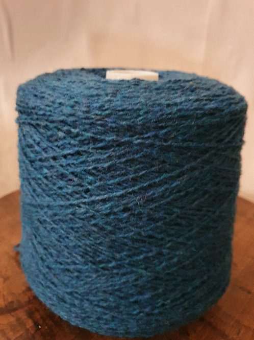 Weavers Delight (xtra twist) - Soft Lambswool with Added Twist -Blue Tones