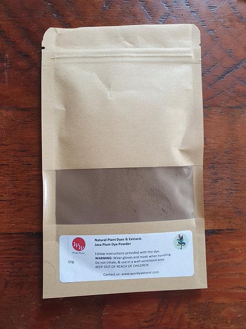 Java Plum Natural Plant Dye Powder- 100% Natural