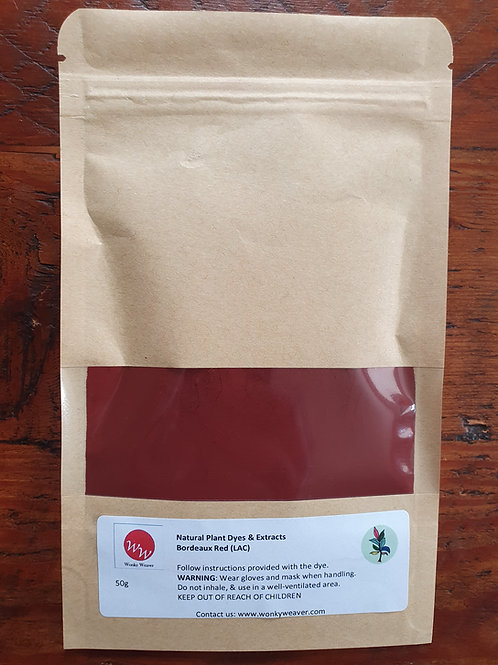 LAC Natural Plant Dye Extract (Bordeaux Red)