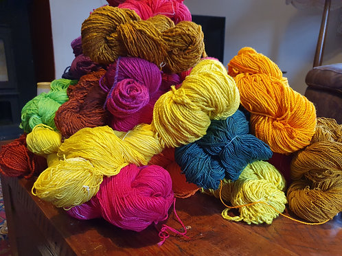 Chromatic Cotton Yarn - Dark Brown - organic &  luxor available