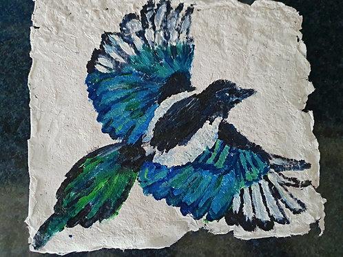 Magpie - By Paper et Paint