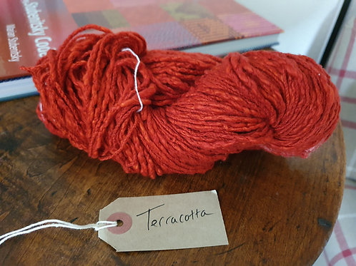Chromatic Cotton Yarn - Terracotta - Organic & Luxor available