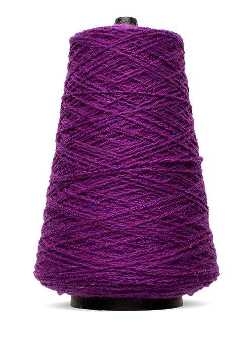 Harrisville Shetland Wool Yarn Cones - Plum