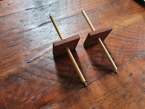Wooden Floating Selvedge Weights - Small