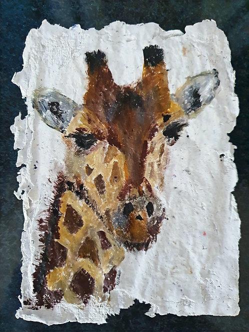 Giraffe - By Paper et Paint