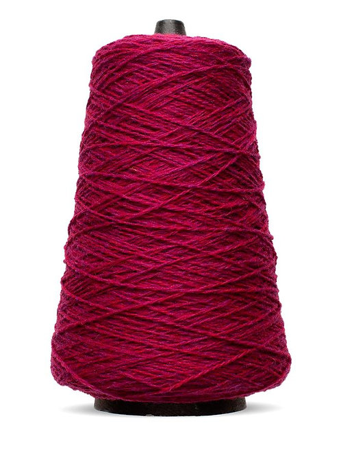 Harrisville Shetland Wool Yarn Cones - Reds, Pinks & Purples