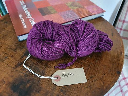 Organic Chromatic Cotton Yarn - Purple