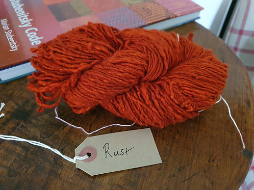 Chromatic Cotton Yarn - Rust - Organic & Luxor available