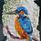 Thumbnail: Kingfisher - By Paper et Paint