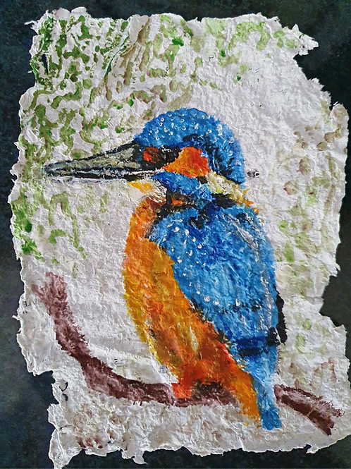Kingfisher - By Paper et Paint