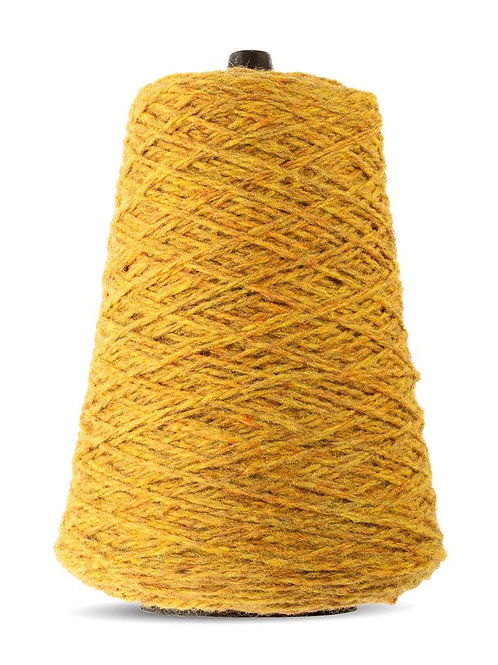 Harrisville Highland Wool Yarn Cones - Mustard