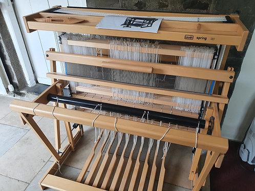 Louët Spring Floor Loom (90cm width, 8 Shaft, 10 Treadle)