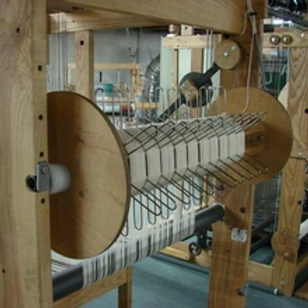 AVL Loom Sectional Warp Beam - Workshop Dobby Loom