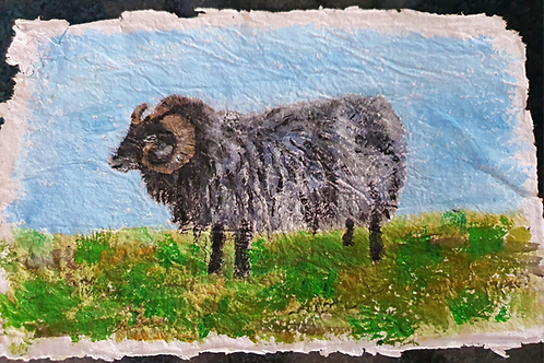 Woolly Ram - By Paper et Paint