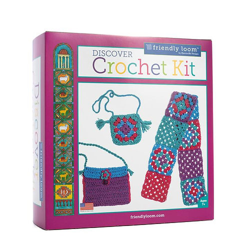 Discover Crochet Kit by Friendly Looms