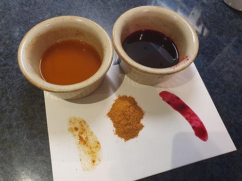 Natural Sappanwood Ink Making Kit - Hot Pink