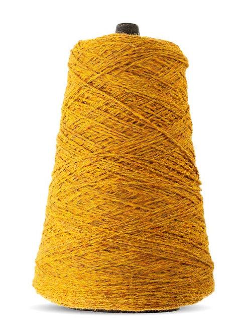 Harrisville Shetland Wool Yarn Cones - Mustard