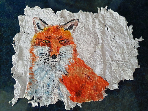 Cunning Fox - By Paper et Paint