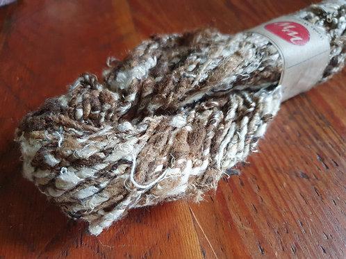 Tussar & Mulberry Silk Noil Yarn – 100g