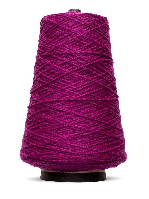 Harrisville Shetland Wool Yarn Cones - Magenta