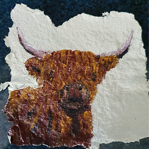 Highland Cow - By Paper et Paint