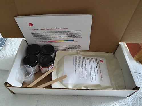 Wonky Weaver™ Dye Kit Procion MX Fibre Dyes & Silk
