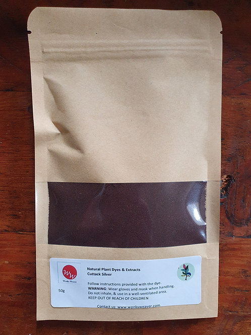 Alkanet Root Plant Dye Powder (Cuttack Silver)