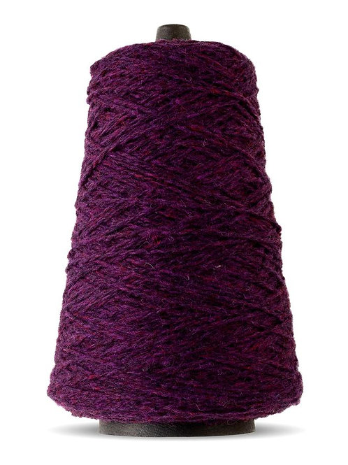 Harrisville Highland Wool Yarn Cones - Black Cherry