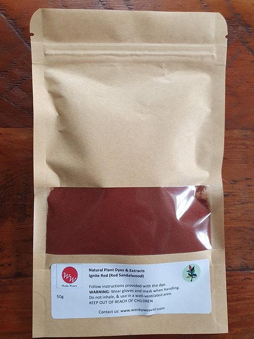 Red Sandalwood Natural Plant Dye Powder (Ignite Red)