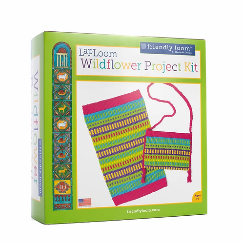LapLoom Project Kit - Wildflower Design