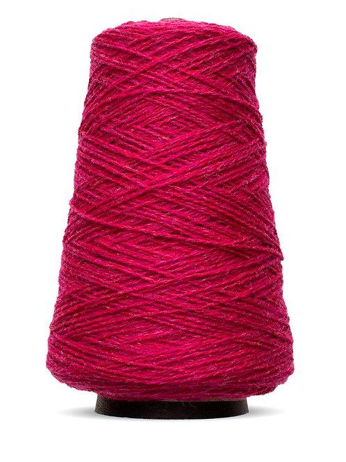 Harrisville Shetland Wool Yarn Cones - Raspberry