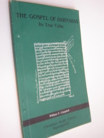 The Gospel of Barnabas: Its true value