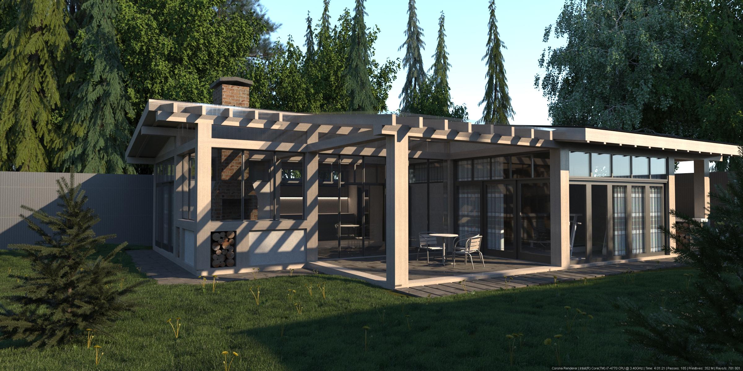 Проект гостевого дома.