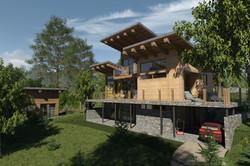 Проект индивидуального дома.