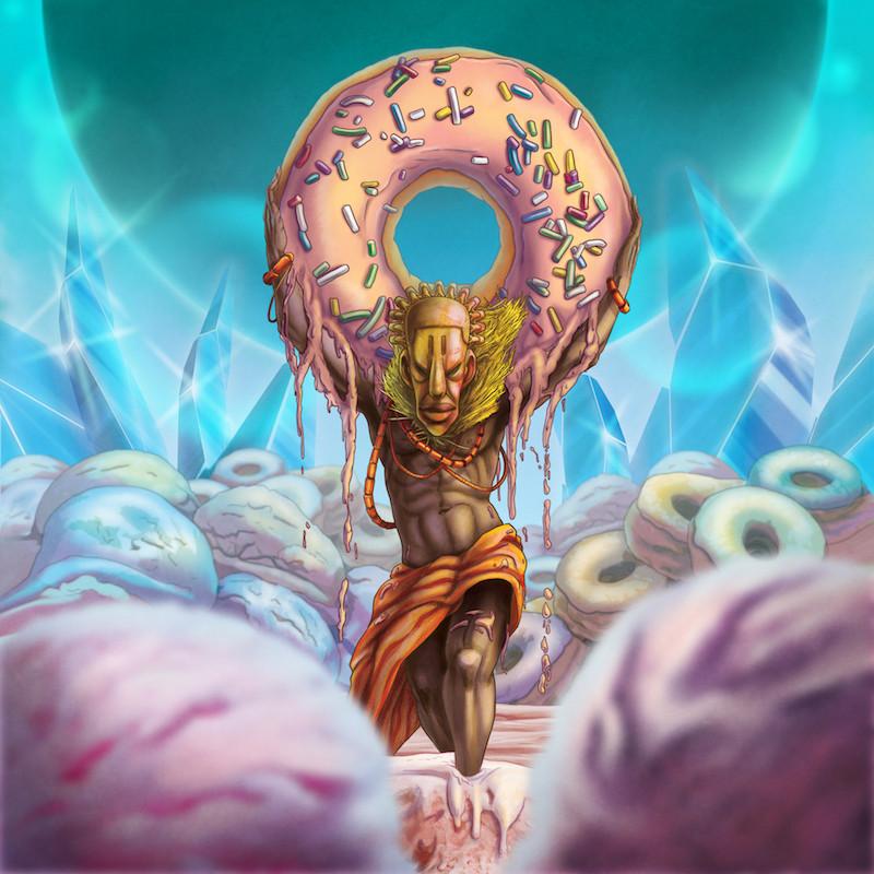 Donuts and Ice Cream Album Cover - J Dilla Tribute