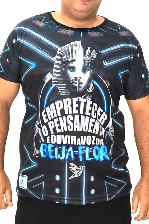 Camisa de Enredo Atual - Gola Preta