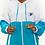 Thumbnail: Jaqueta Corta Vento Azul Celeste e Branco