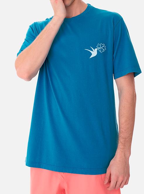 Camisa Institucional Azul - Logo Pequeno