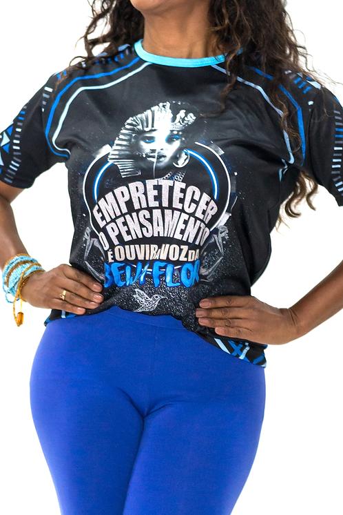 Camisa de Enredo Atual - Gola Azul