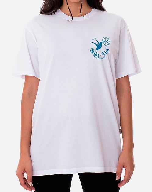 Camisa Institucional Branca - Logo Pequeno