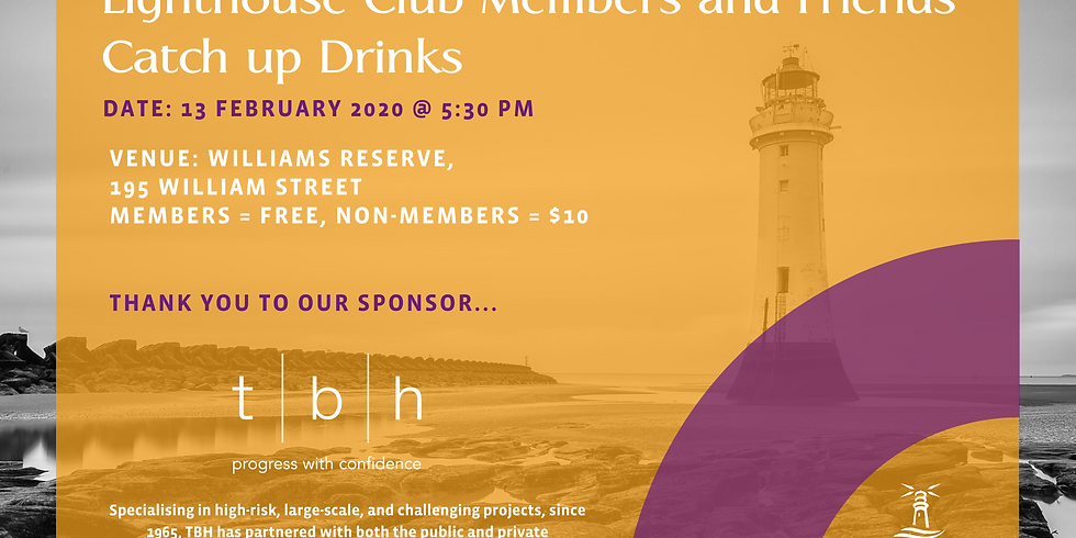 MELBOURNE |  2020 Drinks Event