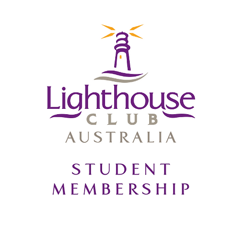Lighthouse Club Australia Student Membership