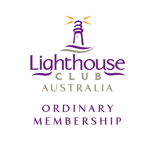 Lighthouse Club Australia Ordinary Membership