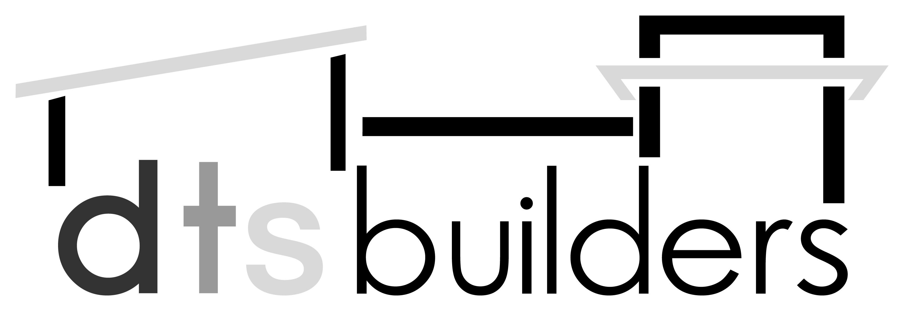 DTS Builders - White Logo