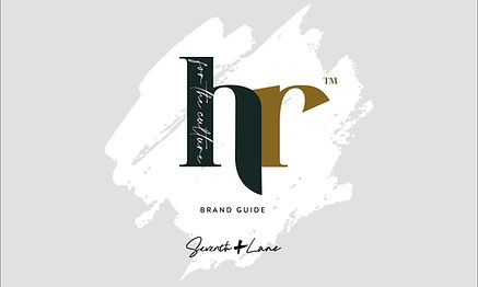 HR For the Culture Brand Guide